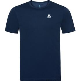 Odlo Cardada Kortærmet T-shirt Herrer blå